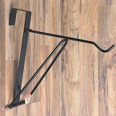 Tough 1 Portable  Metal Collapsible Foldable Hanger For Bridle Halter Tack Black