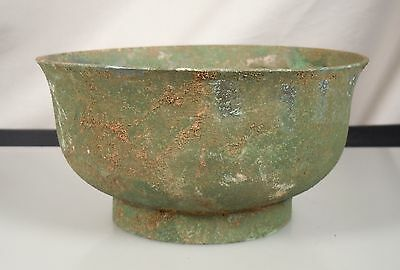 Korean Silla Bronze Bowl