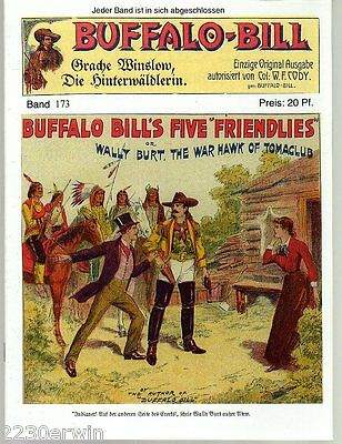 BUFFALO BILL Band 173 / Col.William F.Cody / GROSS-FORMAT