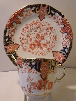 Royal Crown Derby Imari 2712 Cup And Saucer