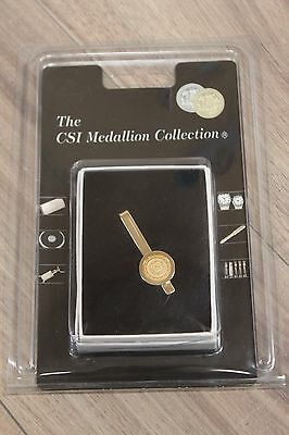 The CSI Medallion Collection Gold Plated Tie Bar University of Notre Dame