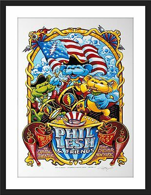 Phil Lesh Grateful Dead Memorial Day NY Concert 2017 Stonehedge Poster AP /25