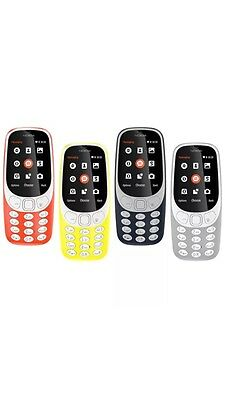 Nokia 3310 ,2017 Dual Sim, 2mp Camera ,Long Battery Phone . It Comes With 5 Col