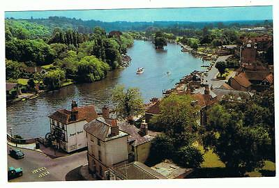 Unused Colourmaster P/C The River from the Church Tower, Henley-on-Thames