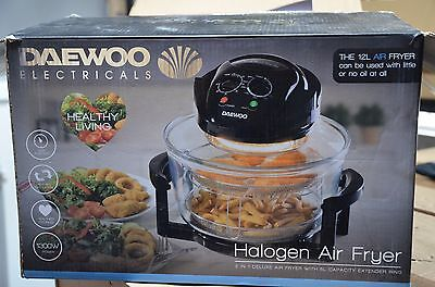 DAEWOO Halogen Air Fryer - 12L, 1300W Broken
