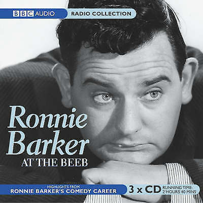 NEW/SEALED - Ronnie Barker At The Beeb (BBC Radio Collection) (Audio 3xCD)...