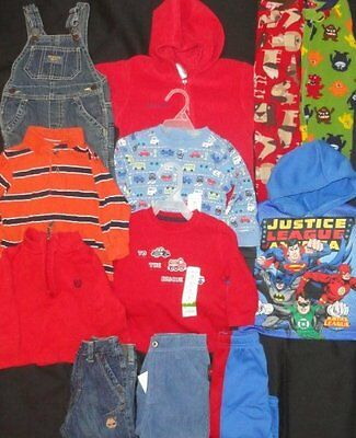 BOYS 12 months Clothes NEW EUC Fall Winter COLUMBIA Tops Pants Sleepers PJs LOT