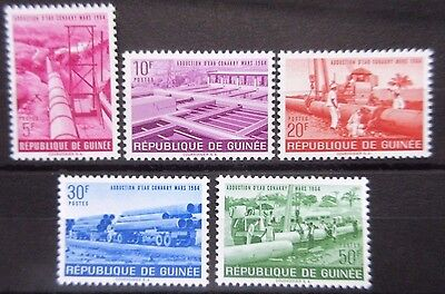 Guinea 1964 Piped Water Supply -Conakry Set. MNH