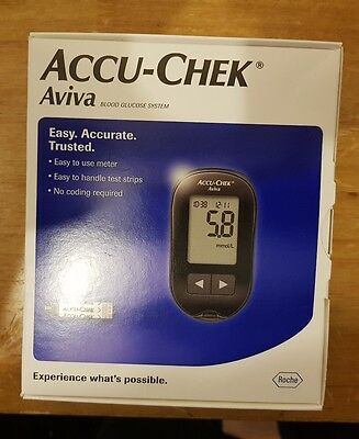Accu-Chek Aviva Blood Glucose System RRP£69.99 3 YEAR WARRANTY RECORDED DELIVER