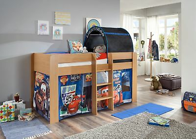 polini kids kinder hochbett mit kleiderchrank regal und schreibtisch eur 399 90 picclick de. Black Bedroom Furniture Sets. Home Design Ideas