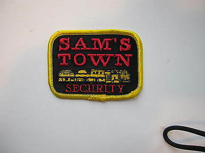 "RARE Sam's Town  Casino Security Dept. Tunica, Mississippi   3"" X 2"""