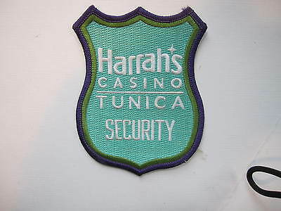 RARE  Harrah's Casino Security Dept.   Tunica, Mississippi   (light green style)