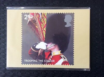 Full Set of Royal Mail postcards Trooping  the Colour