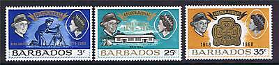 Barbados 1968 Girl Guides Jubilee SG375/7 MNH