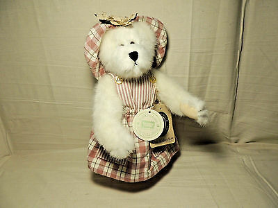 "BOYD'S ROSIE B GOODBEAR - 10"" Bear - Country Clutter Exclusive - Tags Intact"