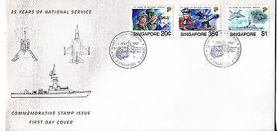Singapore 1992 National Service FDC