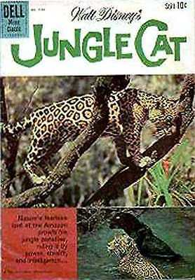 Jungle Cat #1 in Very Good condition. FREE bag/board