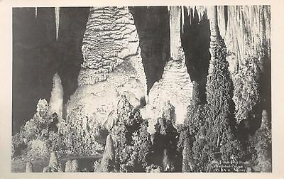 NEW MEXICO - The Temple in Carlsbad Cavern c.1925 Leck Real Photo POSTCARD