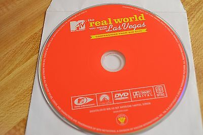 MTVs The Real World You Never Saw -Confessions From Sin City DVD Disc Only