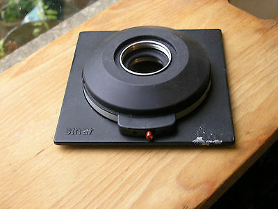 original Sinar  later DB  size 1 mount manual set lens board