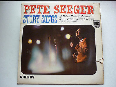 "Pete Seeger - Story Songs - BBL 7507 - 12"" LP Vinyl Record"