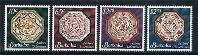 Barbados 2011 Sailors Valentines 4v set MNH
