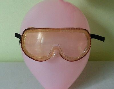 Vintage Norton Gas Welding Cutting Grinding Protective Goggles Safety Glasses
