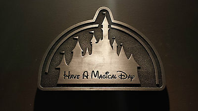 Disney inspired Have a Magical Day plaque