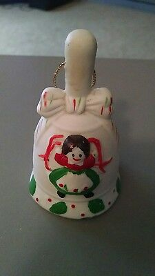 Christmas Doll Bell Ornament