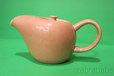 Russel Wright American Modern Steubenville Small Coffee Pot Coral