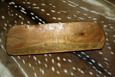 Carved Wooden Dough Bowl Primitive Wood tray Trencher Rustic Home Decor 22 inch