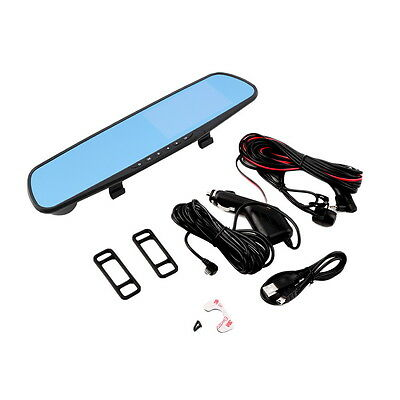 HD 1080P Car Vehicle Traveling Data Record Rear View Mirror Camera G-sensor BG