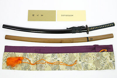 Japanese Samurai Sword Nihonto Antique Katana in Koshirae with 2 Certificates