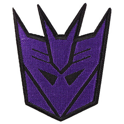The Movie Transformers Embroidered Iron/Sew ON Patch Cloth Applique