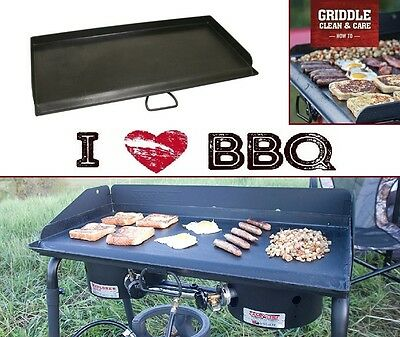 Flat Top Griddle 32'' Restaurant Professional Steel Teppanyaki Commercial Grill