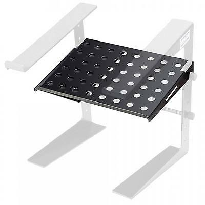 Adam Hall Tray for DJ Laptop Stands - Universal Fit with Adjustable Width