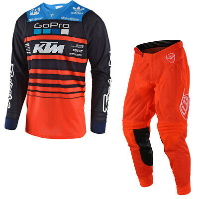 Troy Lee Designs 2018 YOUTH GP Air Streamline Official KTM MX Jersey/Pant Bundle