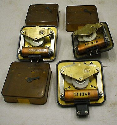3-Off Westerstrand Alternate Polarity Slave Movements For Master Clock
