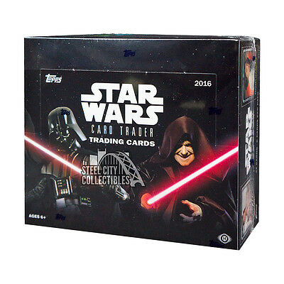 2016 Topps Star Wars Card Trader Hobby Box