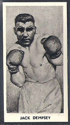 Cartledge-Famous Prize Fighters Boxing (Matt White Print)-#26- Jack Dempsey