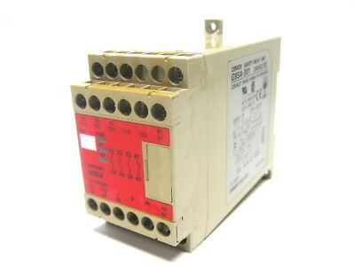 Omron G9SA-301 Safety Relay Unit 24 Vac/Vdc
