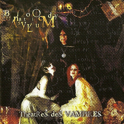 Theatres Des Vampires ‎– Bloody Lunatic Asylum RARE CD! BRAND NEW! FREE SHIPPING
