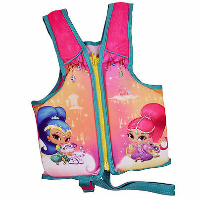 Shimmer and Shine Kids Swimvest Water Activity Toddler Pool Safety Life Jacket