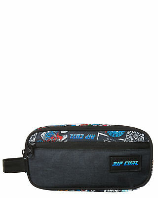 New Rip Curl Men's Trad Toiletry Woven Bag Polyester