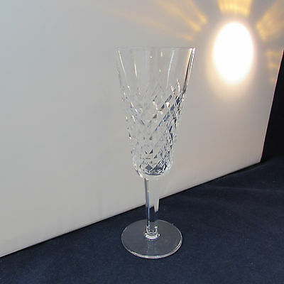 SET OF TWO - Waterford Crystal ALANA Flute Champagne Glasses