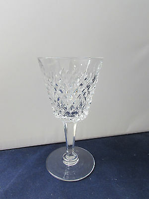 SET OF SIX - Waterford Crystal ALANA Claret / Red Wine Glasses