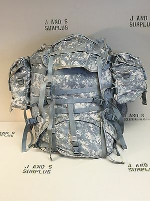 MOLLE II COMPLETE RUCKSACK Large Field Pack ACU with sustainment pouches Grade C