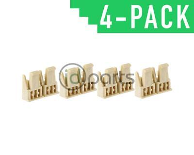 Swirl Flap Motor Clips Set of 4 (OM642) OEM Mercedes 6420910150