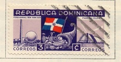 Dominican Republic 1939 Early Issue Fine Used 3c. 168550
