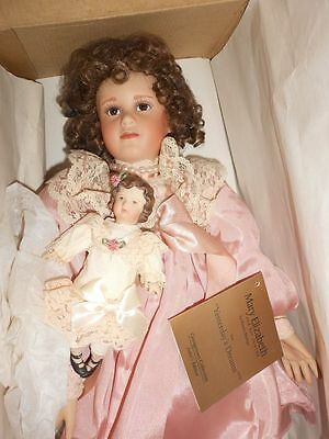 The Georgetown Collection Mary Elizabeth and Her Jumeau Doll ~Complete MIB COA